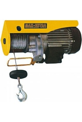 Max Extra Elektrikli Vinç 125/250 Kg Halat 20 Mt
