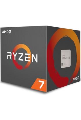 AMD Ryzen 7 1700X 3.4GHz/3.8GHz 16MB Cache Soket AM4 İşlemci