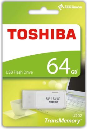 Toshiba Hayabusa 64GB USB 2.0 USB Bellek Beyaz