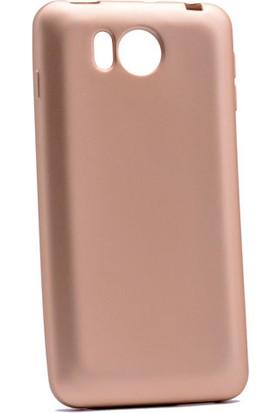 Kny Vestel Venus V3-5580 Kılıf Ultra İnce Mat Silikon+Cam