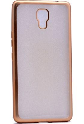 Kny Casper Via A1 Plus Kılıf Renkli Kenarlı Laser Silikon+Cam
