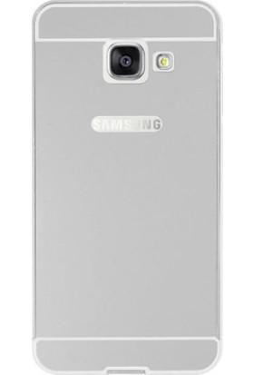 İmpashop Samsung Galaxy A310 Aynalı Kılıf A3 2016 Aynalı Bumper