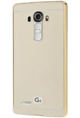 İmpashop LG G4 Aynalı Kılıf LG G4 Aynalı Bumper Çerçeve