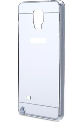 İmpashop Samsung Galaxy Note 4 Aynalı Kılıf Bumper Çerçeve