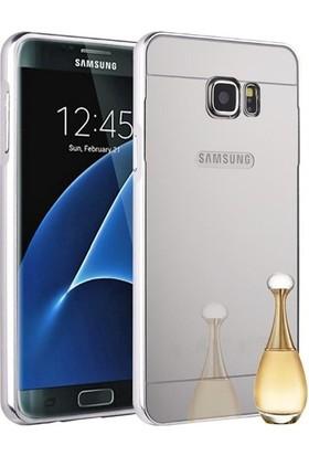 İmpashop Samsung Galaxy Note 5 Aynalı Kılıf Bumper Çerçeve