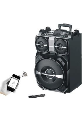 Goldmaster SR-1160 Taşınabilir Işıklı DJ Ses Sistemi