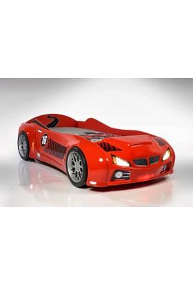 Mobika Arabalı Yatak Bmv Kırmızı