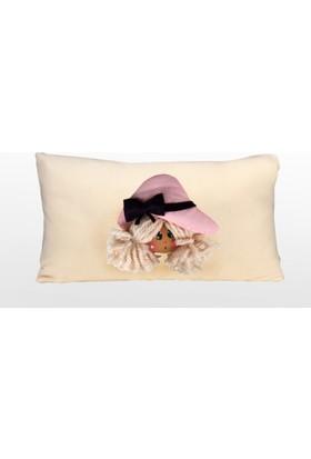 Moinaz Naz Bebek Yastık Ekru-Nbe01
