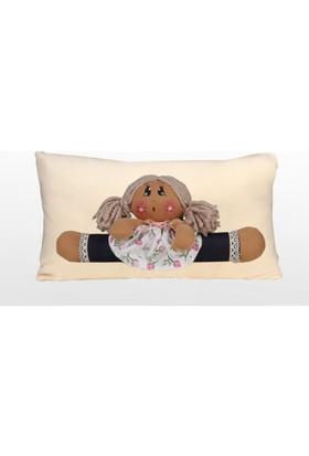 Moinaz Naz Bebek Yastık Ekru-Nbe02