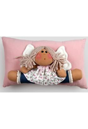 Moinaz Naz Bebek Yastık Pembe-Nbp03