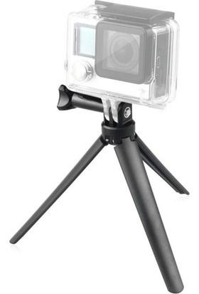 Sanger Aksiyon Kamera 3 Yollu Monopod Tripod