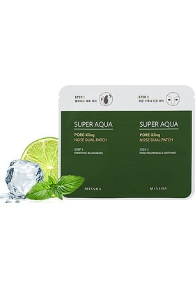 Missha Super Aqua Pore Kling Nose Dual Patch