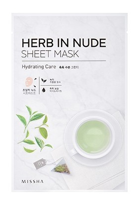 Missha Herb In Nude Sheet Mask (Hydrating Care)