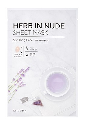 Missha Herb In Nude Sheet Mask (Soothing Care)