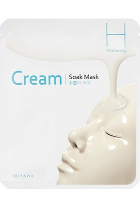 Missha Cream-Soak Mask [Hydrating]