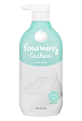 Missha Foaming Cushion Body Wash (Heaven Blue)