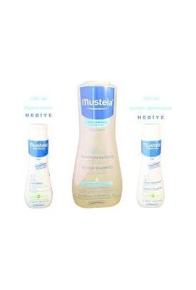 Mustela Şampuan 500 ml + Dermo Cleansing 100 ml + Hydra Bebe 100 ml