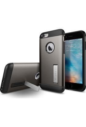 Spigen Apple iPhone 6s Kılıf Slim Armor Gunmetal - 11605