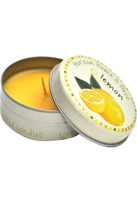 Kap İçi Kokulu Mumlar / Standart-Limon
