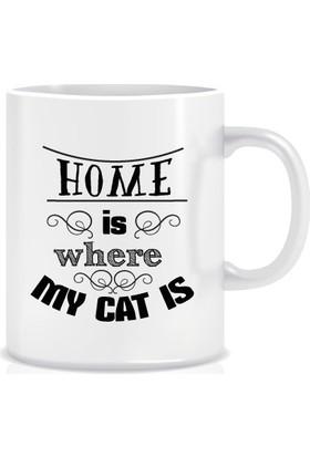 Dalis Evim Kedimin Olduğu Yerdir Tasarım Kupa