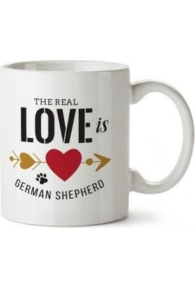 Dalis Kalpli German Shepherd Tasarım Kupa