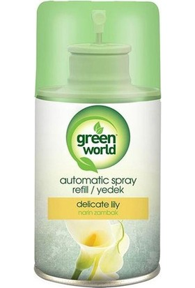 Green World Otomatik Makina Yedek Narin Zambak 250Ml