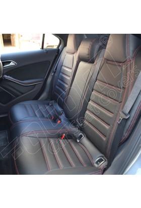 Otom Audi A3 Sport 2012-Sonrasi California Design Araca Özel Deri Koltuk Kılıfı