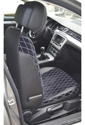 Otom Audi A3 Sport 2012-Sonrası Montana Design Araca Özel Deri Koltuk Kılıfı