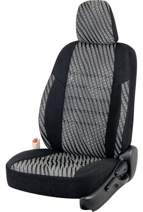 Otom Citroen C3 Picasso 2009-2013 J-103 Siyah Araca Özel Koltuk Kılıfı