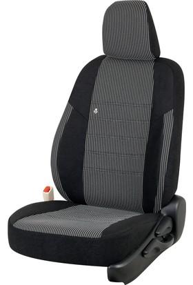 Otom Seat Leon Sport 2013-Sonrası J-102 Siyah Araca Özel Koltuk Kılıfı