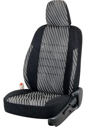 Otom Seat Leon Sport 2013-Sonrası J-103 Siyah Araca Özel Koltuk Kılıfı