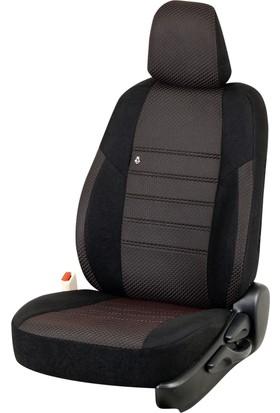 Otom Seat Leon Sport 2013-Sonrası J-106 Siyah Araca Özel Koltuk Kılıfı