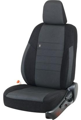 Otom Seat Leon Sport 2013-Sonrası J-107 Siyah Araca Özel Koltuk Kılıfı