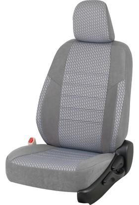 Otom Seat Leon Sport 2013-Sonrası J-119 Füme Araca Özel Koltuk Kılıfı