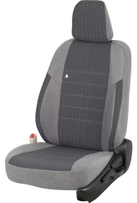 Otom Seat Leon Sport 2013-Sonrası J-125 Füme Araca Özel Koltuk Kılıfı