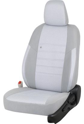 Otom Seat Leon Sport 2013-Sonrası J-127 Gri Araca Özel Koltuk Kılıfı