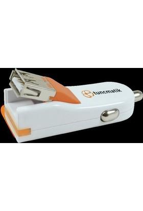 Tuncmatık Flexcharger-Lıghtnıng (Apple Mfı)-1A-1Mt. Cable