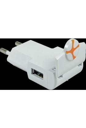 Tuncmatık Flıpcharger-Lıghtnıng (Apple Mfı)-1A-0.3Mt. Cable