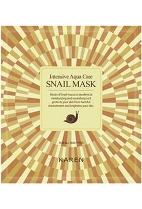 Limonian Karen Snail Mask - Salyangoz Özlü Cilt Onarıcı Yüz Maskesi