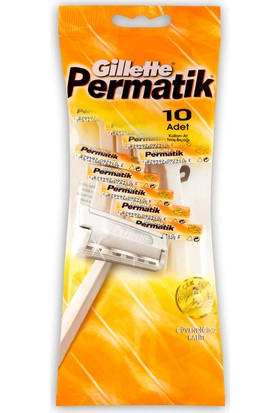 Gillette Permatik 1 10'Lu Poşet
