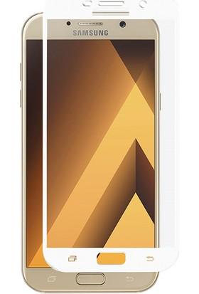 Microsonic Samsung Galaxy A7 2017 3D Kavisli Temperli Cam Ekran koruyucu Film