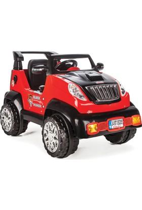 Pilsan Black Thunder Akülü Araba 12 Volt Kırmızı/Siyah