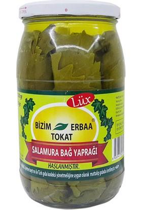 Tokat Erbaa Bizim Lüx Salamura Bağ Yaprağı Cam Kavanoz 500 gr
