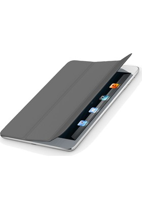 Codegen iPad Air Smart Cover Siyah Silikon Kılıf (IK-450B)