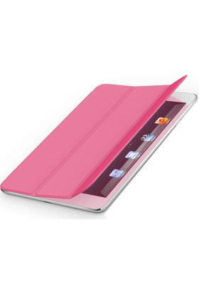 Codegen iPad Air Smart Cover Pembe Silikon Kılıf (IK-450P)
