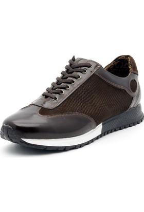 İriadam İ4331 Kahve Rugan Nubuk Spor Ayakkabı