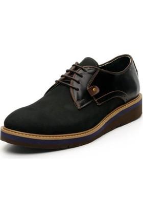 İriadam Y4296 Siyah Nubuk Eva Taban Ayakkabı