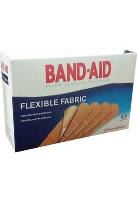 Band-Aid Flexible Fabric Yara Bandı 100Lü Tek Ölçü
