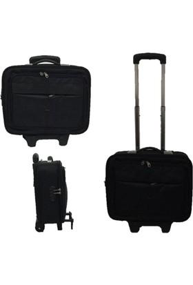 Zeus&Co Pilot Laptop Çantası Valizi Kabin boy Valiz Bavul
