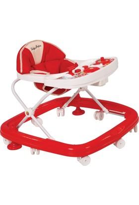 Babyhope 204 Oyuncakli Yürüteç - Kırmızı
